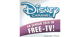 Disney Channel - Ab Januar 2014 im Free-TV!