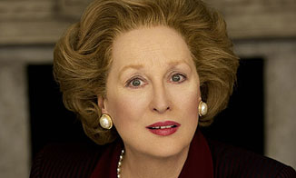 Meryl Streep als Margaret Thatcher. © 2011 Alex Bailey.