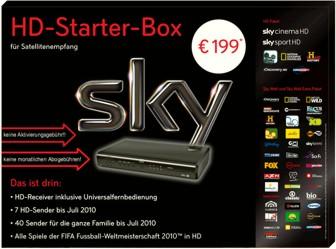 Sky HD-Starter-Box